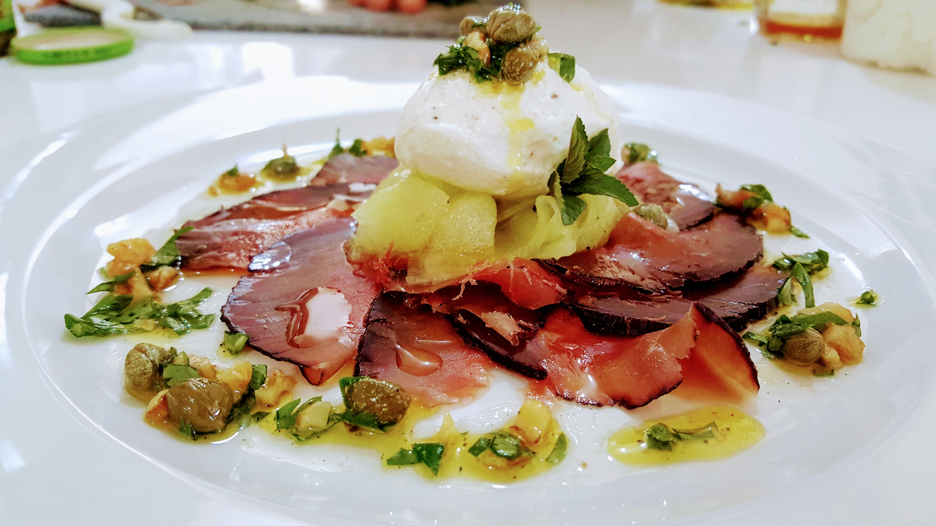 Carpaccio of Home-made Bresaola