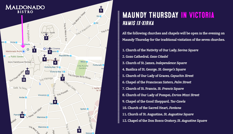 Maundy Thursday in Victoria