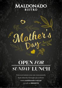 Mother's Day at Maldonado Bistro