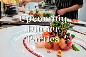 Upcoming Dinner Parties at Gozo.Kitchen