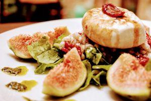 Fig & Gozo Cheese Salad
