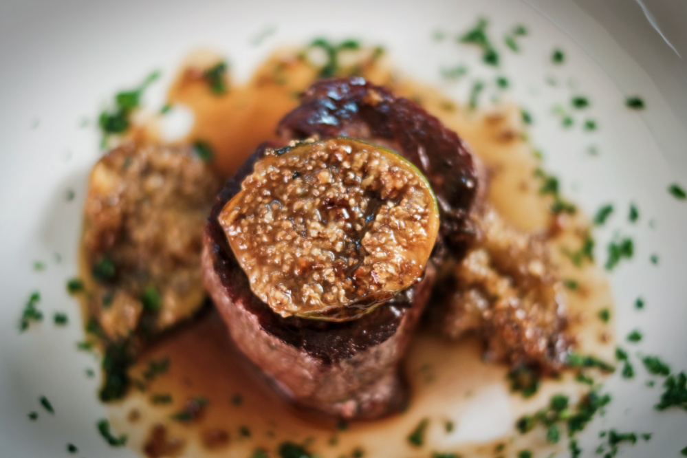 Gozitan Beef Tenderloin with caramelised figs