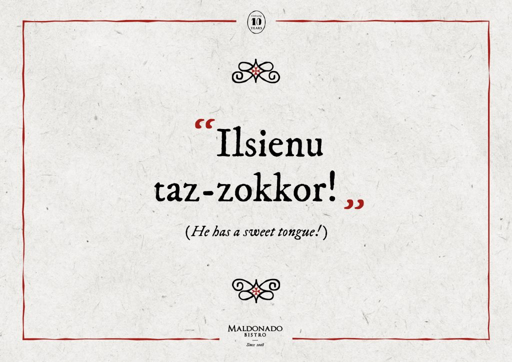 Ilsienu taz-Zokkor!