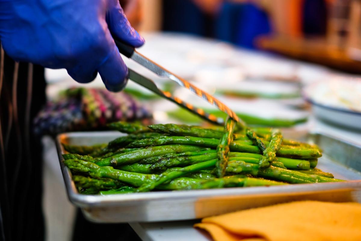 Grilled Gozitan Asparagus