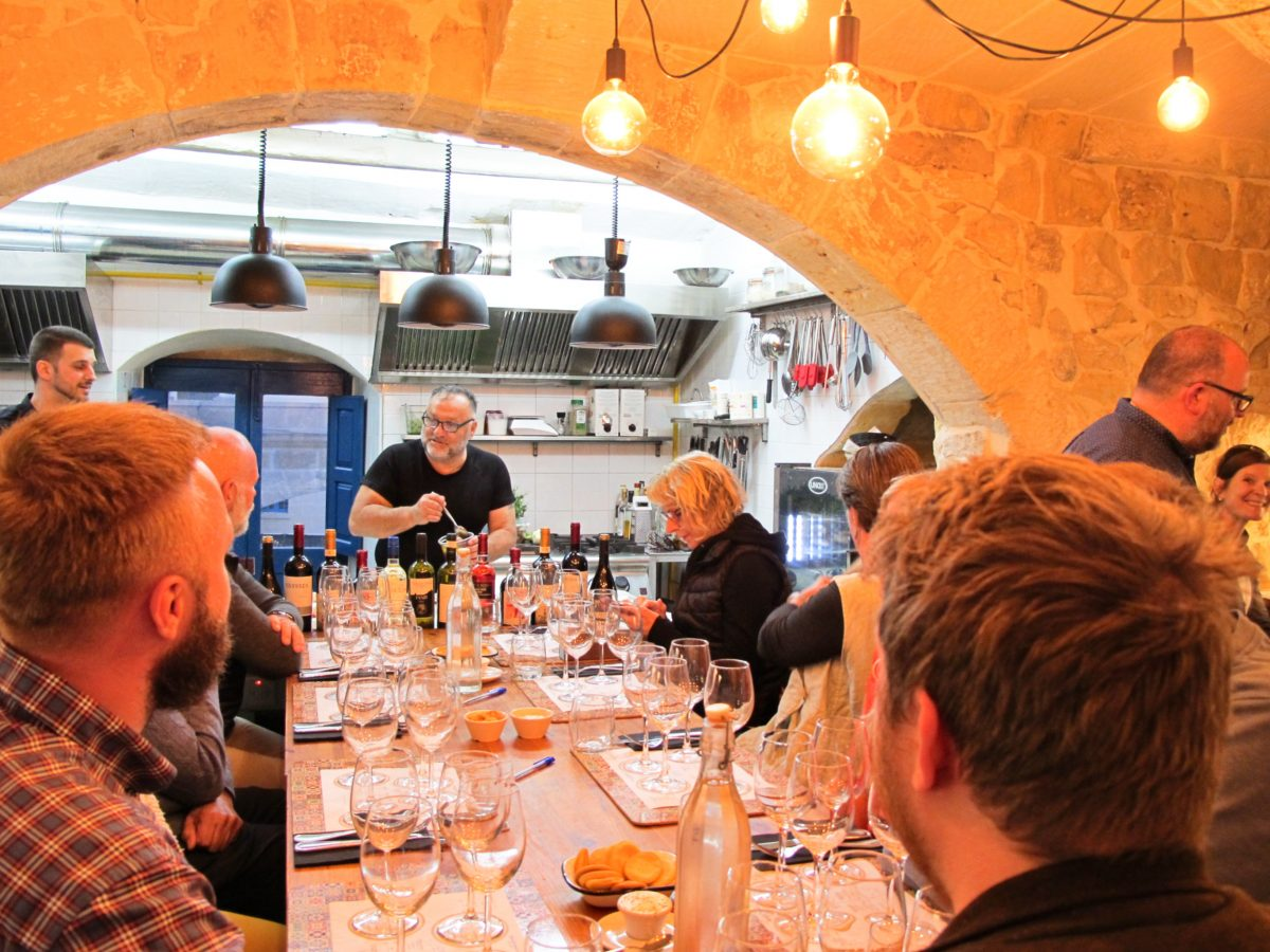 One of our wine tasting nights